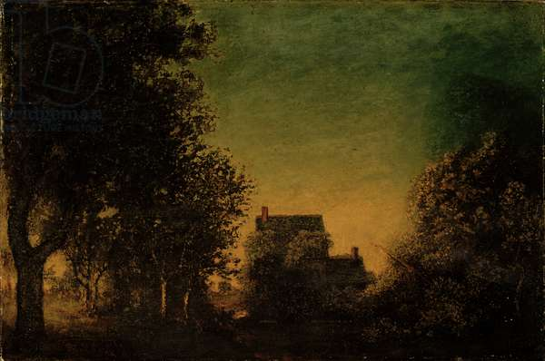 Edge of the Forest, c.1880-90 (oil on canvas)