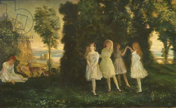 Dancing Children, 1902 (oil on canvas)
