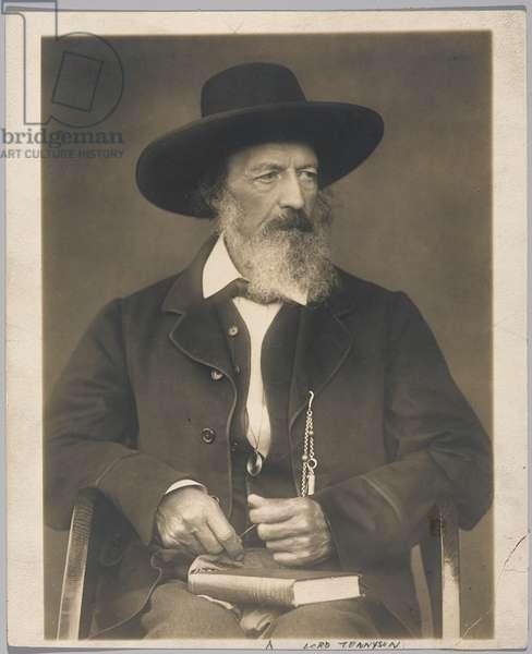 Lord Tennyson (gelatin silver photo)
