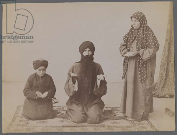 Untitled, late 19th-early 20th century (silver albumen photo)