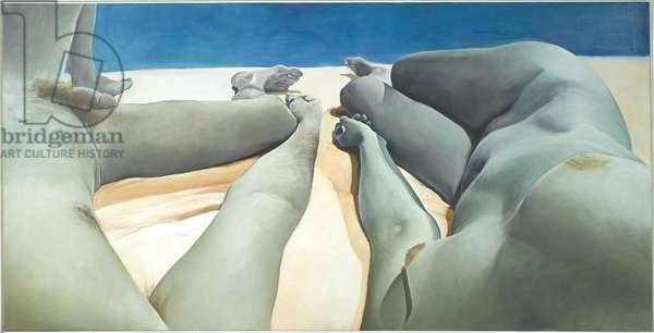 Intimacy-Autonomy, 1974 (oil on canvas)