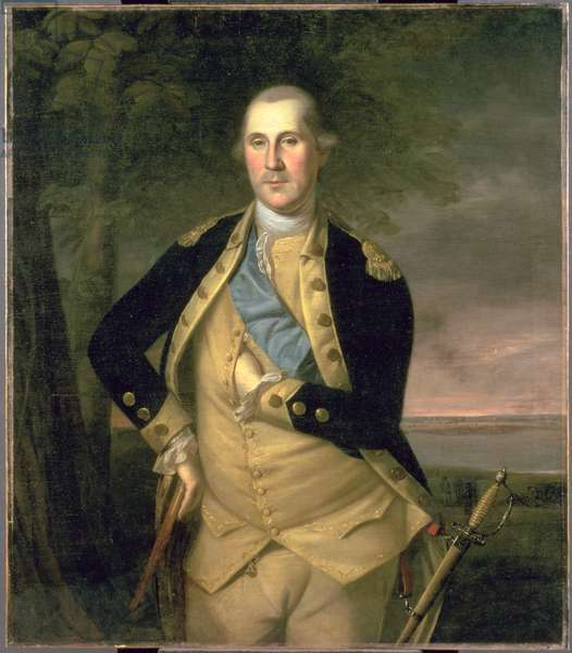 Portrait of George Washington, 1776 (oil on canvas)