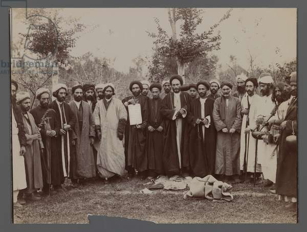 A Group of Religious Men in Religious Garb, late 19th-early 20th century (silver gelatin print)