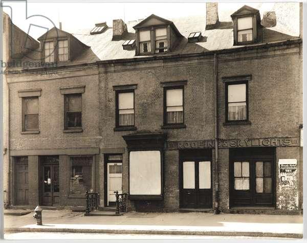 Grant St. #511-513, New York, USA, 1937 (gelatin silver photo)