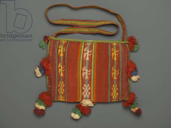 Bag for carrying coca leaves (wool)