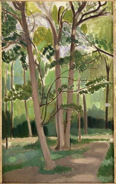 Crossroads at Malabai, c.1916 (oil on canvas)