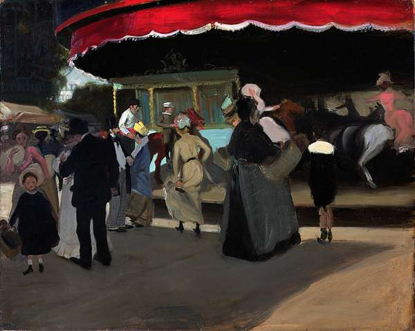 Carrousel, c.1904 (oil on cardboard)