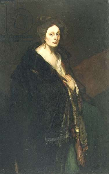 Woman in Manteau, 1898 (oil on canvas)