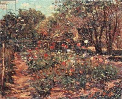 Garden Landscape, c.1915 (oil on canvas)