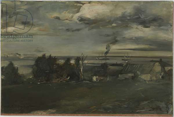 Lake Superior, c.1890 (oil on board)