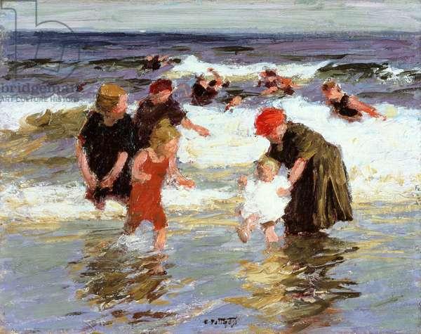Bathers, c.1913 (oil on panel)