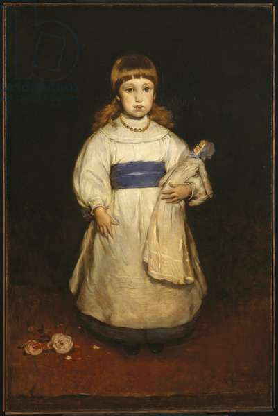 Mary Cabot Wheelwright, 1882 (oil on canvas)