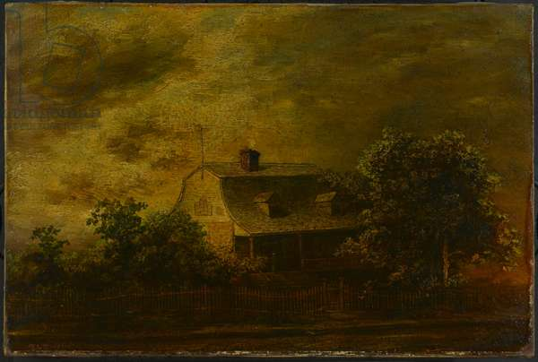 Farmhouse of F. B. Guest, c.1868 (oil on canvas)
