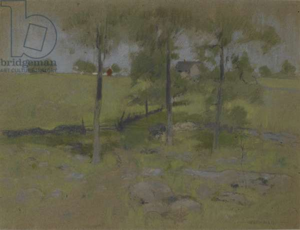 Three Trees, c.1888-95 (pastel on paper)