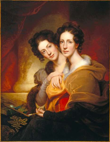 The Sisters (Eleanor and Rosalba Peale), 1826 (oil on canvas)