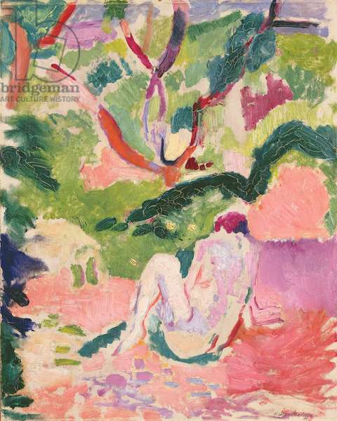 Nude in a Wood, 1906 (oil on panel)