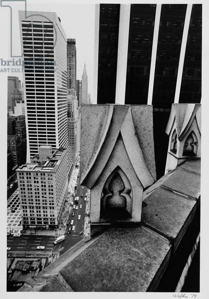 View from 130 West 42 Street (b/w photo)