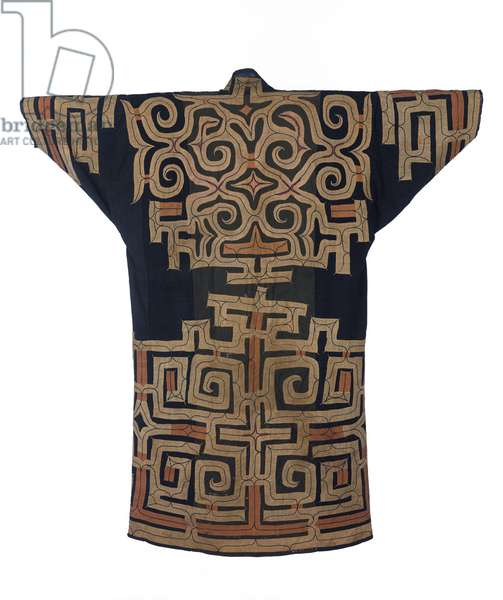 Man's Robe, 19th century (cotton and silk)