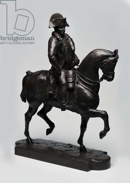 Napoleon on Horseback (bronze)