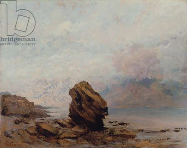 The Isolated Rock, c.1862 (oil on canvas)