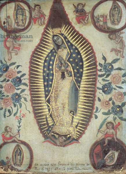 Virgin of Guadalupe, 1824 (oil on canvas)
