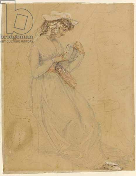 Illustration for 'George Washington Jones: A Christmas Gift That Went A-Begging', 1903 (charcoal, wash & chinese white on paper)