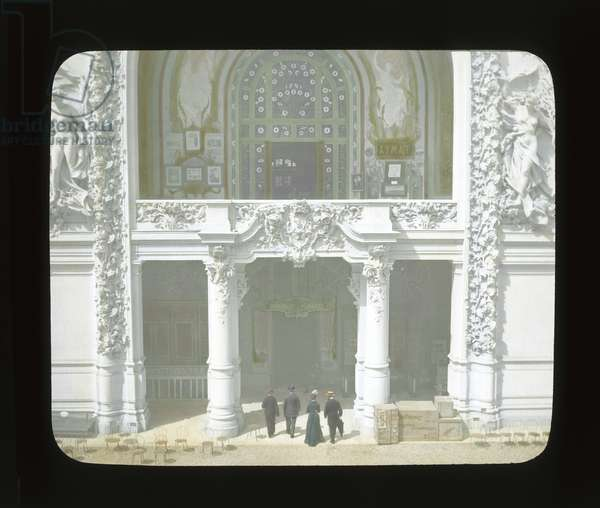 Paris Exposition: Palace of Decorative Arts, Paris, France, 1900 (lantern slide)