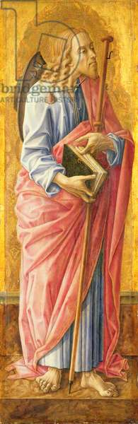 St James the Greater (tempera on panel)