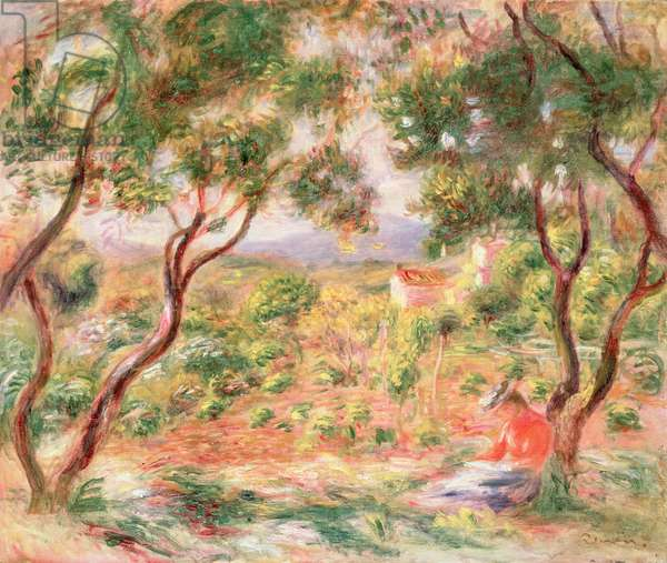The Vines at Cagnes, 1906 (oil on canvas)