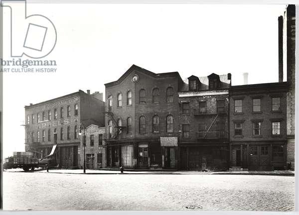Grant St. # 605-07-09, 1937 (gelatin silver photo)