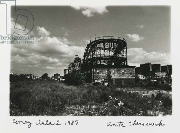 Coney Island (Thunderbolt), 1987 (gelatin silver print)