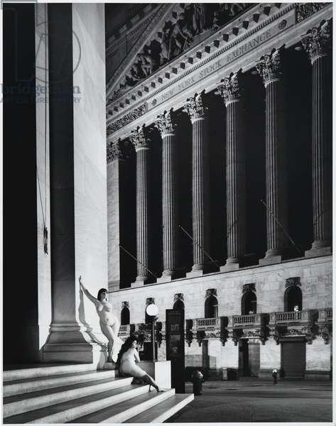 New York Stock Exchange, New York City, 1987 (gelatin silver print)
