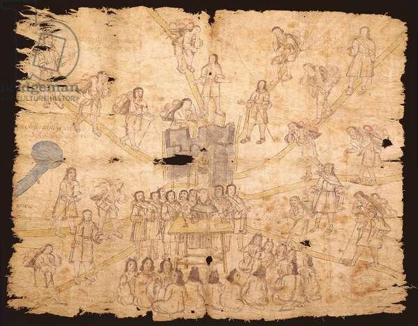 Codex San Pedro Atlapolco (ink & w/c on paper)
