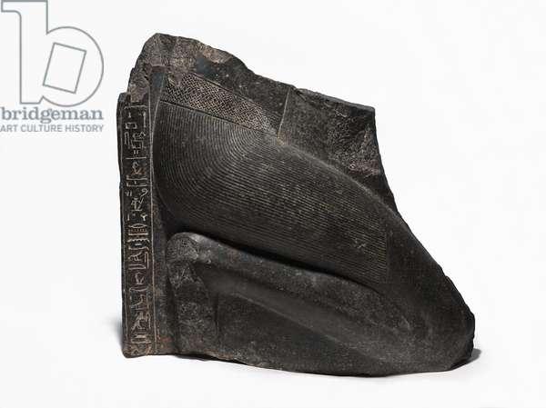Kneeling Statue of Khaemwaset, c.1281-1277 BCE (probably Diorite)