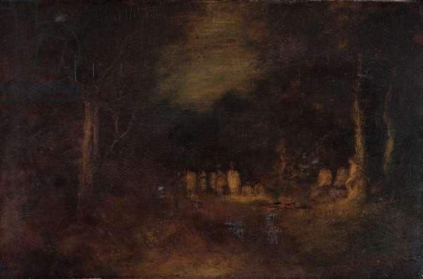The Captive, 1879 (oil on canvas)