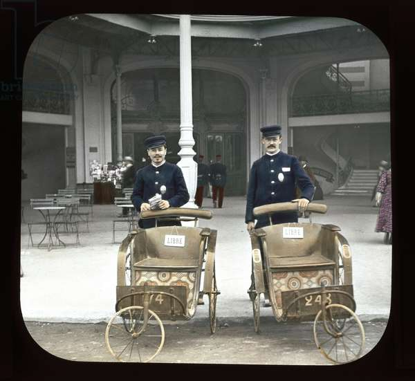Paris Exposition: Chemistry and Machinery, 1900 (lantern slide)