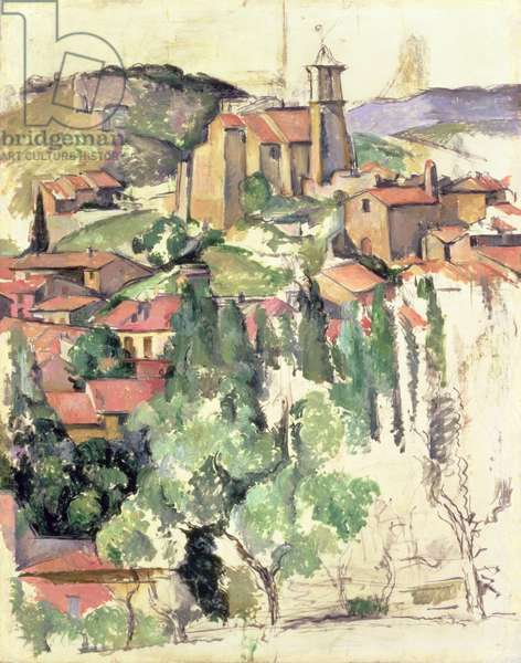 The Village of Gardanne, 1885-86 (oil on canvas)