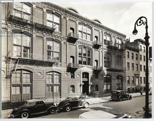 Studios: 51 West Tenth Street, 1938 (gelatin silver photo)