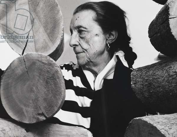 Louise Bourgeois (Sculpture), 1988 (gelatin silver photograph on fiber based paper)