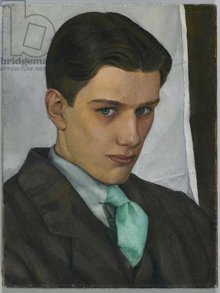 Portrait of Paul Cadmus, 1928 (oil on canvas)