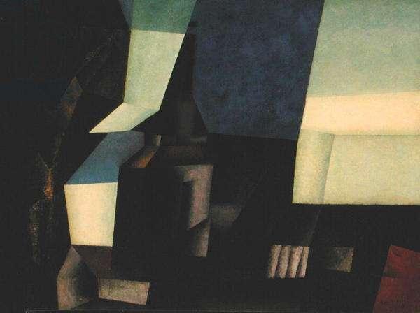 Zirchow V (oil on canvas)