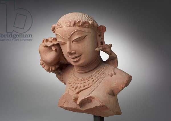 Female Bust, 11th-12th century (sandstone)
