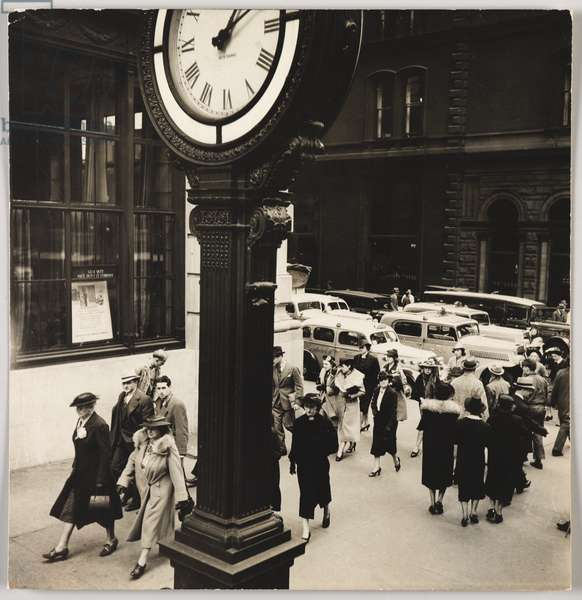 Tempo of the City I, New York, USA, 1938 (gelatin silver photo)