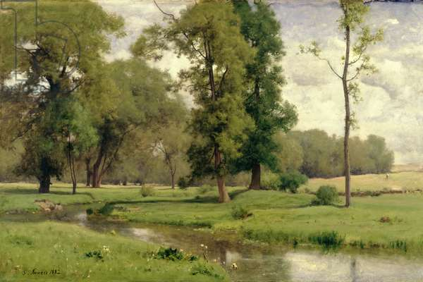 June, 1882 (oil on canvas)