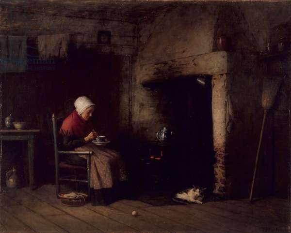 Fireside Companion, 1889 (oil on canvas)
