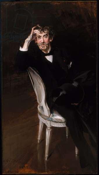 Portrait of James Abbott McNeil Whistler (1834-1903) 1897