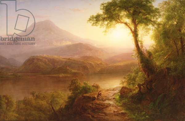 Tropical Scenery: South American Landscape, 1873 (oil on canvas)