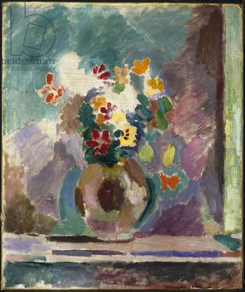 Flowers, 1906 (oil on canvas)
