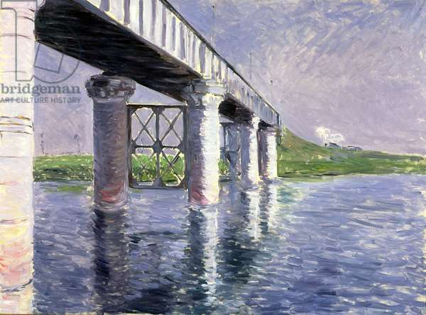 The Bridge at Argenteuil, 1885 or 1887 (oil on canvas)
