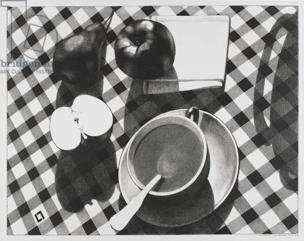 Still Life, 1929 (litho on white wove paper)
